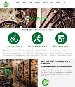 web de alquiler de bicicletas