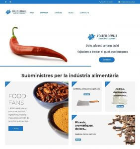 web sobre aditivos alimentarios