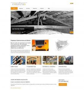 web empresa constructora
