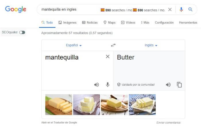snippet google translate